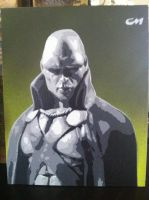 Martian Manhunter by Stencils-by-Chase
