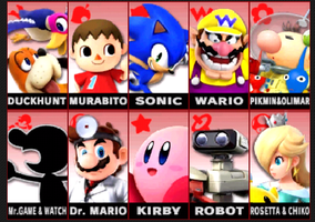 My Top 10 Least Favorite Characters in Smash Bros. by tallsimeon2003