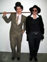 Holmes and Watson by MiracoliCosplay