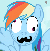 Rbd Derp 'stache by Dashmaster5000