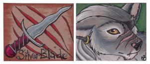Silverblade's Badge 2008 by wylde
