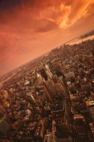 Top of the Empire State II by martinasdf