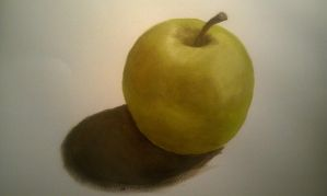 Apple painting. by Searwen
