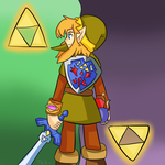 Legend of Zelda:a link between worlds by thegamingdrawer
