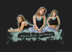 Mickie James Wallpaper by ratedrjulia