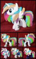 OC Starblaze Plushie :Commission: by AppleDew