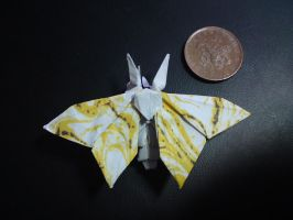 moth by palaeorigamipete