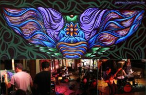 Live painting by dehydrated1