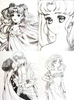 Sailor Moon scetch3 by HaloBlaBla