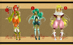 Adoptable Batch #2 [CLOSED] by MissElysium