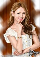 Hyoyeon Digital Painting 3 by BoAism