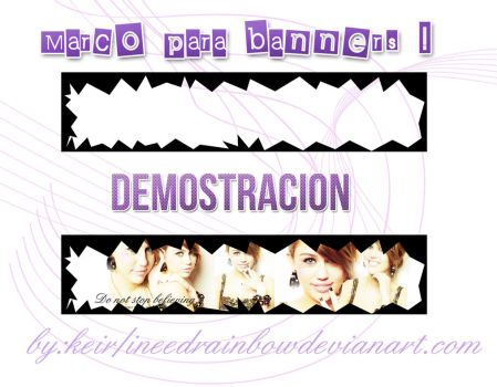 Marco para banners by ineedrainbow
