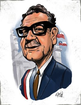 Salvador Allende by pituman