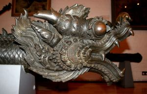 Stock - Cannon Dragon Head by GothicBohemianStock