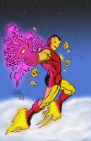 Iron Man Flyin' High by statman71
