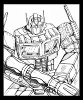 Optimus Prime Again by armsofsin