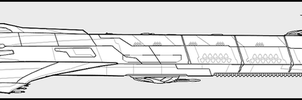 Midlonian Atmosphere Capable Destroyer by Evilonavich