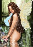 Fairy butterfly by leidanogueira