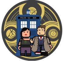 Doctor Who and Amy by InsidiousYoink