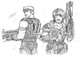 G: Sam And Baird by MyFantasiWorld