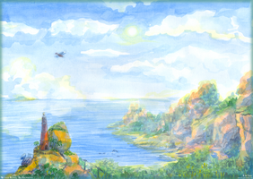Westside Island - The Lighthouse by Liris-san