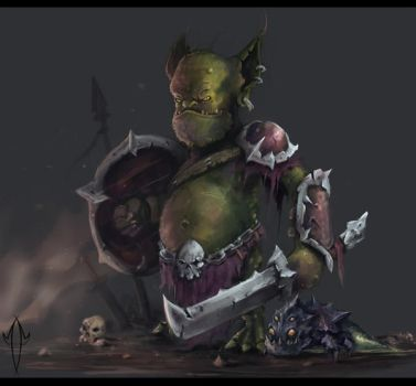 Badass Imp by JustMick