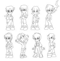 13 - Color-Me-Chibis by Athey