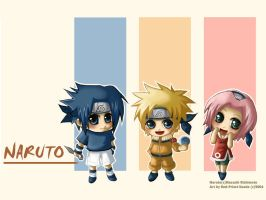 Chibi Naruto wallpaper by Red-Priest-Usada