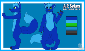 Ap Sykes folf reference by LexiCakes