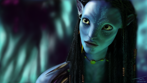 Avatar Neytiri by intox18
