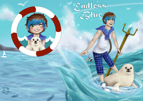 C.E - Endless Blue by EllenorMererid