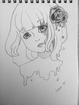 Obsession (uncolored) by FieryLemons