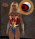Ultra Woman Controlled by The Eye 3 by ladytania