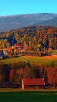 Indian summer scenery by patrickjobst