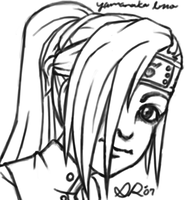 Weird Ino Pic by Shikalee