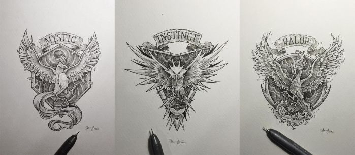 Pokemon Go Teams by kerbyrosanes