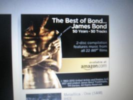 50 Years of Bond Amazon Music Imgad by EspioArtwork31