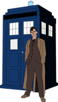 Quick Doctor Who Sketch by Doctor-Derpy