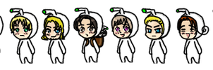 Axis Powers Hetalia: Paint it White Picto Parade by TionneDawnstar