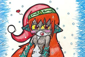 Merry Christmas Midna by Foxtail-89