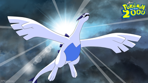 Lugia - The Power of One [Wallpaper] by Mega-X-stream