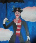 Mary Poppins by EysteinKN
