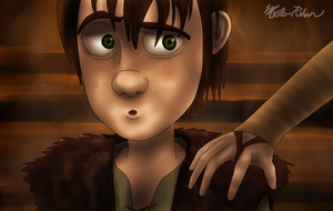 Hiccup and the Soup Bowl 9 by masterrohan