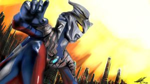 ultraman zero by keifaizu