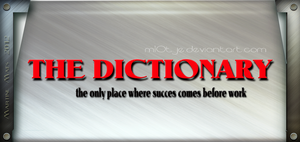 Dictionary by M10tje