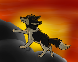 Echoing into the Sunset by Aevaln