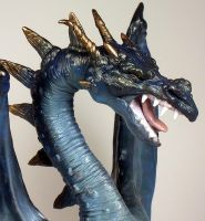 Dragon bust close up by mysticalis