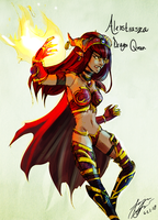 Alexstrasza - Life-Binder by AlreadyOverWhat