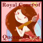 I Am A Member of The Queen of Cute's Court Badge by Queen-Of-Cute