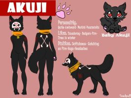 Akuji Reference Sheet by Snarkpuff
